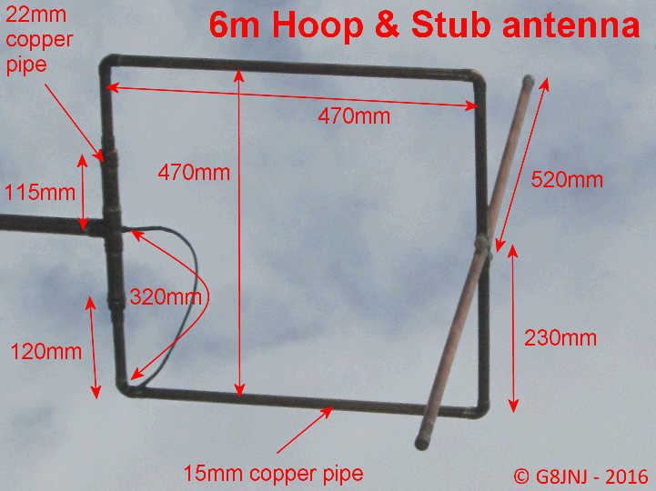 6m Omni mixed polarisation Antenna
