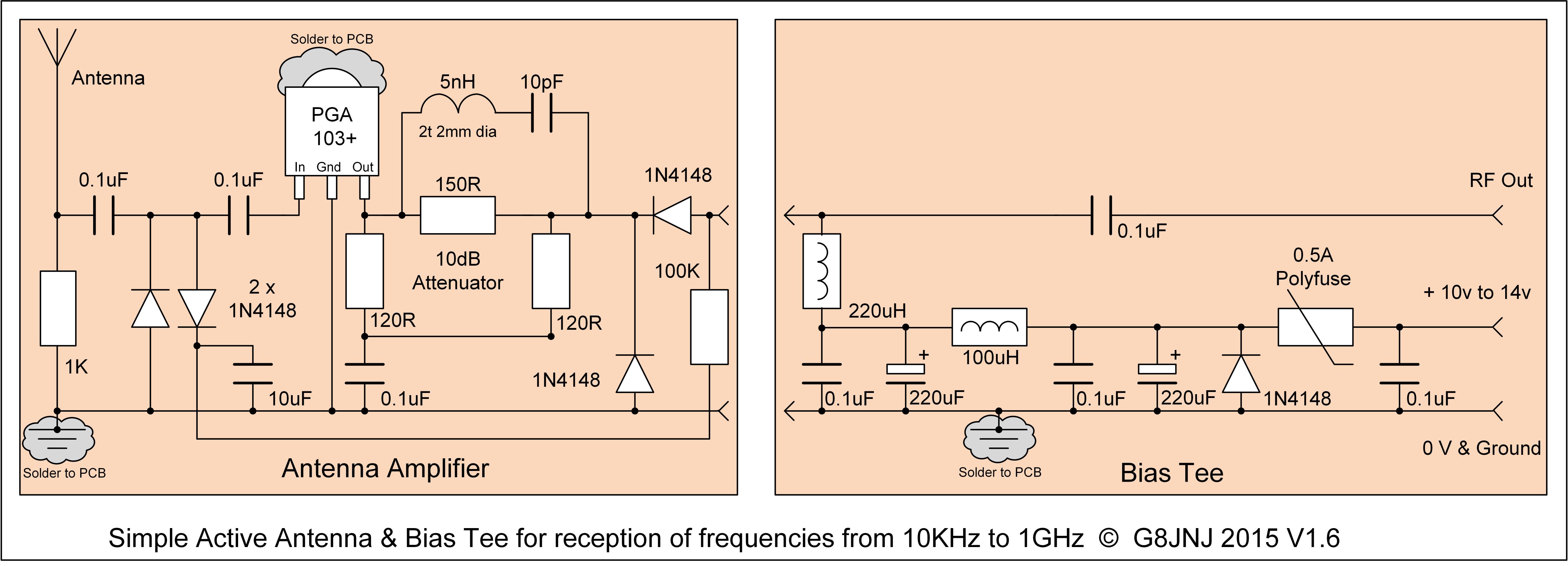 Hf Active Antenna Circuit Wiring Diagrams Computing Circuits Freecircuitsnet Martin G8jnj Antennas Rh Net Homemade Kit